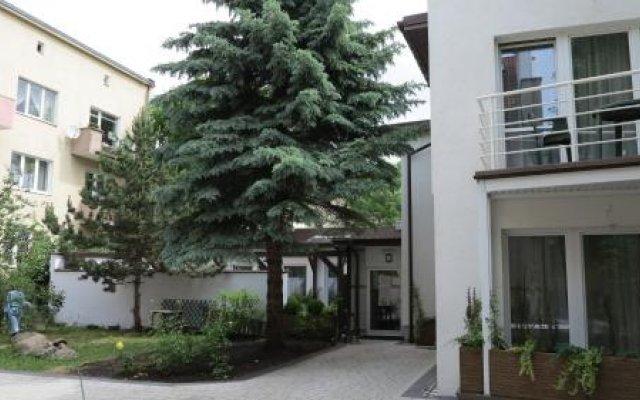 Отель Rofel Pokoje Goscinne Сопот вид на фасад