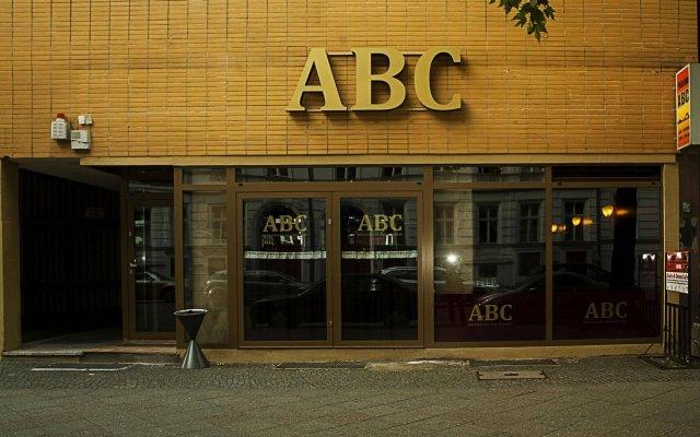 Отель Pension ABC вид на фасад