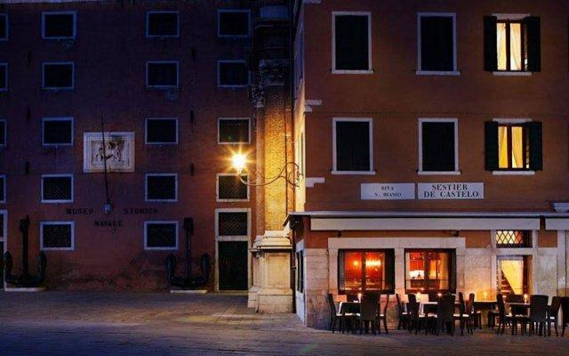 Hotel Bucintoro вид на фасад