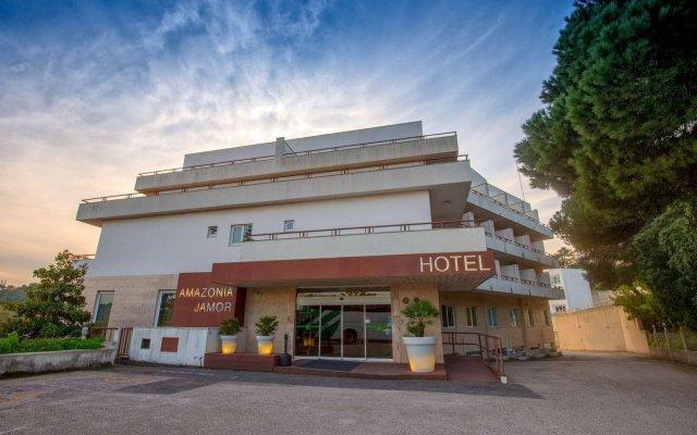Отель Amazonia Jamor Hotel Португалия, Хамор - отзывы, цены и фото номеров - забронировать отель Amazonia Jamor Hotel онлайн вид на фасад
