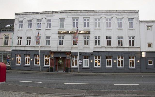 Отель POSTGAARDEN Фредерисия вид на фасад