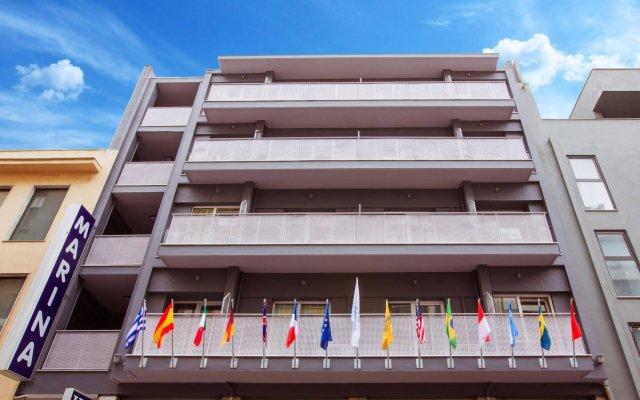 Отель Marina Hotel Athens Греция, Афины - 11 отзывов об отеле, цены и фото номеров - забронировать отель Marina Hotel Athens онлайн вид на фасад
