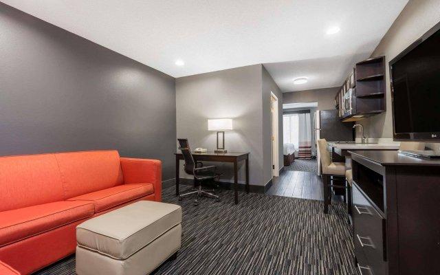 Отель Hawthorn Suites by Wyndham Columbus West США, Колумбус - отзывы, цены и фото номеров - забронировать отель Hawthorn Suites by Wyndham Columbus West онлайн комната для гостей