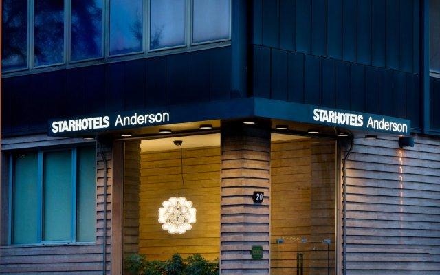 Отель Starhotels Anderson Италия, Милан - 2 отзыва об отеле, цены и фото номеров - забронировать отель Starhotels Anderson онлайн вид на фасад