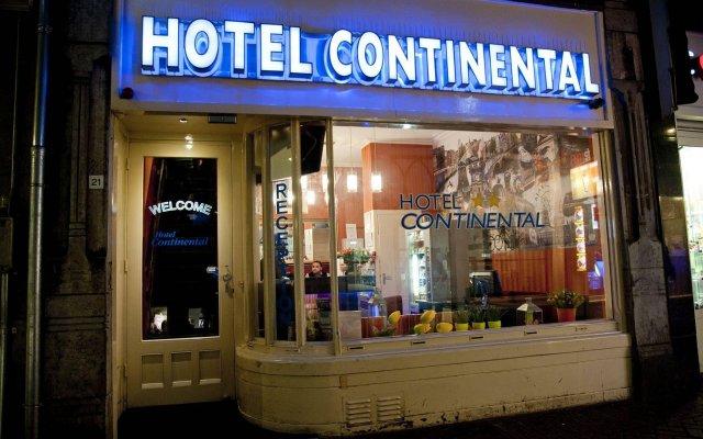 Hotel Continental Amsterdam Амстердам вид на фасад