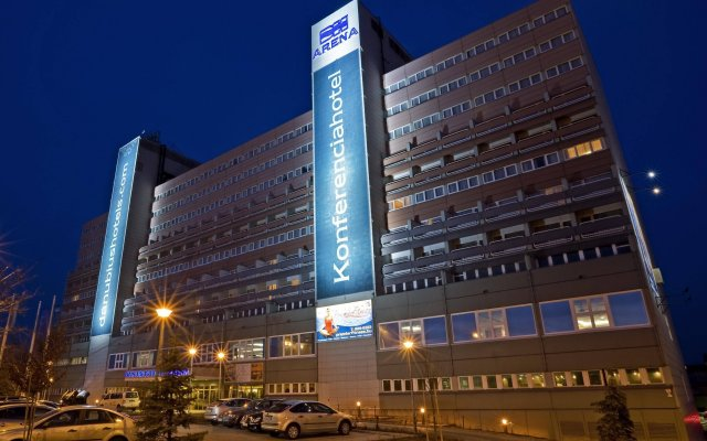Отель Danubius Arena Будапешт вид на фасад