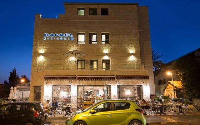 Rafael Residence Израиль, Иерусалим - отзывы, цены и фото номеров - забронировать отель Rafael Residence онлайн вид на фасад