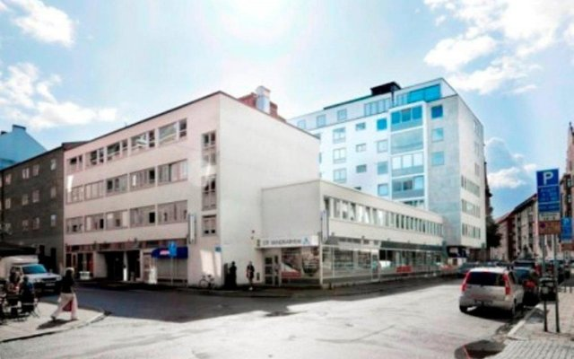 Отель STF Malmö City Hostel & Hotel Швеция, Мальме - 2 отзыва об отеле, цены и фото номеров - забронировать отель STF Malmö City Hostel & Hotel онлайн вид на фасад
