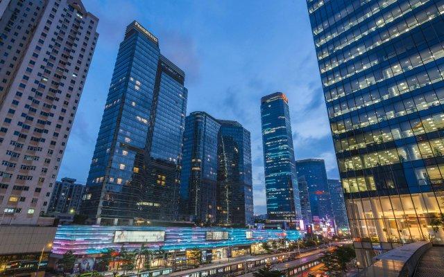 Отель Fraser Suites Guangzhou Китай, Гуанчжоу - отзывы, цены и фото номеров - забронировать отель Fraser Suites Guangzhou онлайн вид на фасад