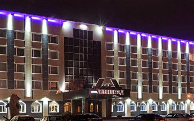 Гостиница Ленинград вид на фасад