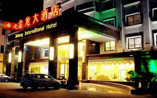 Suzhou Jinlong Hotel вид на фасад