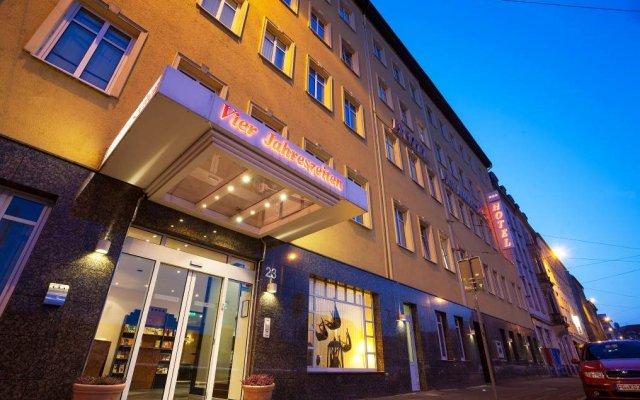 Hotel BIG MAMA Leipzig вид на фасад