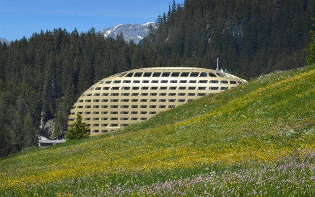 Отель InterContinental Davos Швейцария, Давос - отзывы, цены и фото номеров - забронировать отель InterContinental Davos онлайн вид на фасад