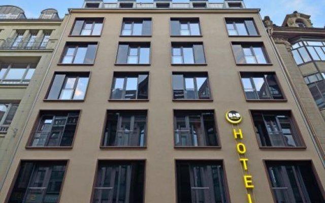 Отель B&B Hotel Leipzig-City Германия, Лейпциг - отзывы, цены и фото номеров - забронировать отель B&B Hotel Leipzig-City онлайн вид на фасад