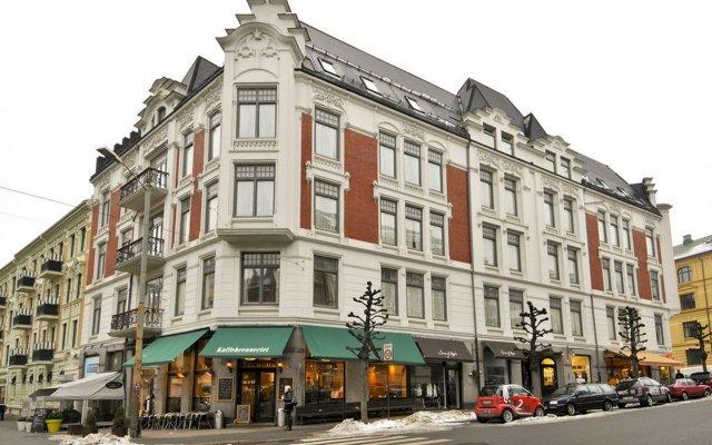 Апартаменты Frogner House Apartments - Skovveien 8 вид на фасад