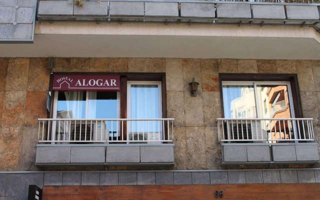 Отель Hostal Alogar Испания, Барселона - 2 отзыва об отеле, цены и фото номеров - забронировать отель Hostal Alogar онлайн вид на фасад