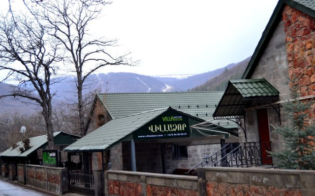 Отель Вилла Villadzor Армения, Цахкадзор - отзывы, цены и фото номеров - забронировать отель Вилла Villadzor онлайн вид на фасад
