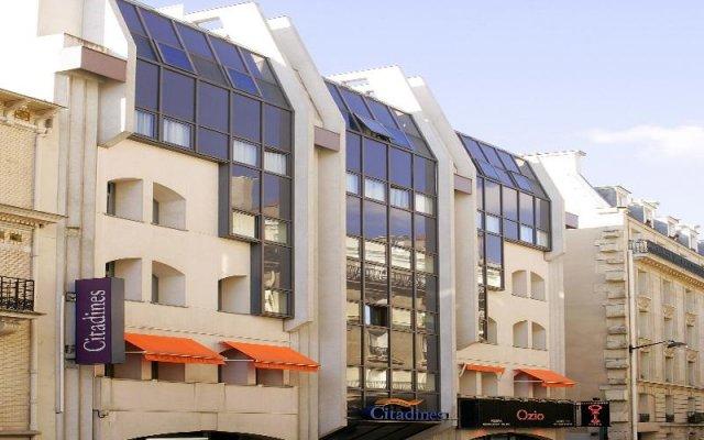 Отель Citadines Trocadéro Paris вид на фасад