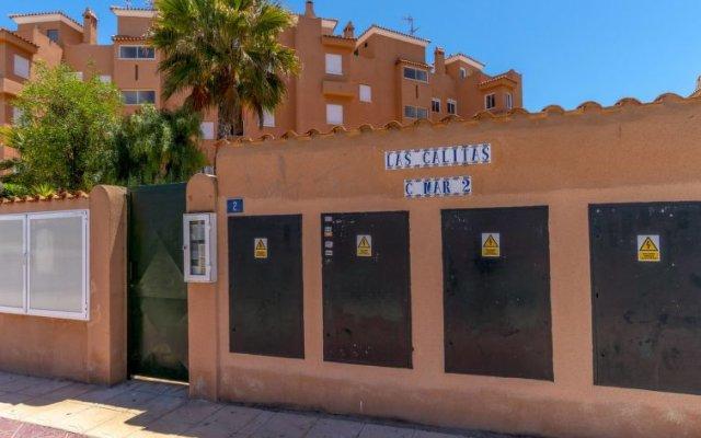 Отель Las Calitas Bloque III вид на фасад