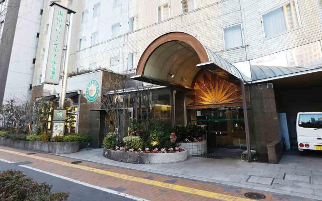 Tokyo Green Hotel Korakuen вид на фасад