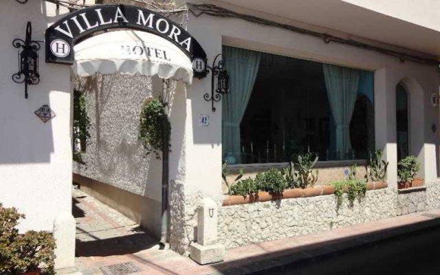 Villa Mora Hotel Джардини Наксос вид на фасад