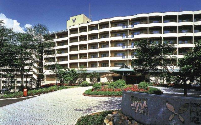 Hotel Harvest Kinugawa Никко вид на фасад