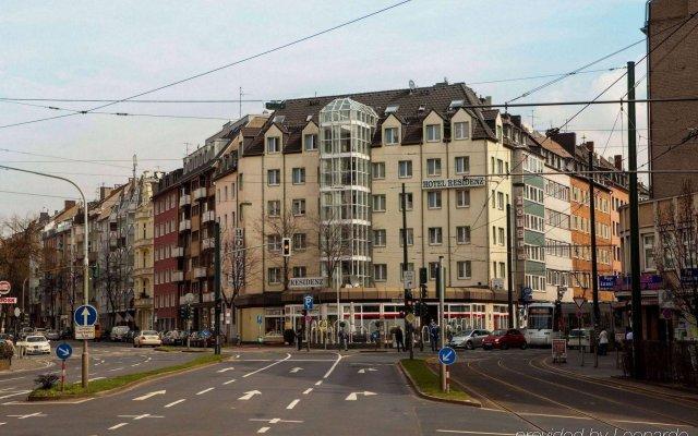Отель Residenz Düsseldorf Германия, Дюссельдорф - - забронировать отель Residenz Düsseldorf, цены и фото номеров вид на фасад