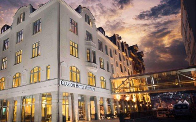 Отель Clarion Hotel Admiral Норвегия, Берген - 1 отзыв об отеле, цены и фото номеров - забронировать отель Clarion Hotel Admiral онлайн вид на фасад