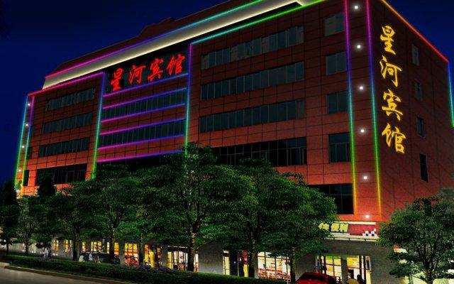 Отель Kunming Hongxu Holiday Express Hotel Китай, Куньмин - отзывы, цены и фото номеров - забронировать отель Kunming Hongxu Holiday Express Hotel онлайн вид на фасад