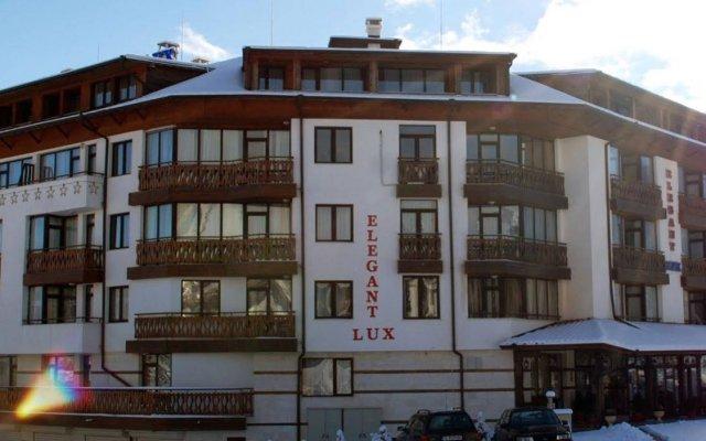 Отель Elegant Lux Болгария, Банско - 1 отзыв об отеле, цены и фото номеров - забронировать отель Elegant Lux онлайн вид на фасад