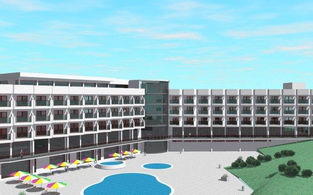Отель MH_Peniche вид на фасад