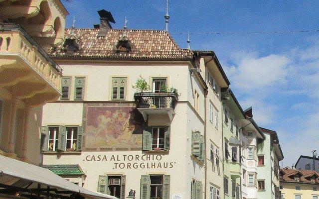 Апартаменты Apartment Bolzano Больцано вид на фасад