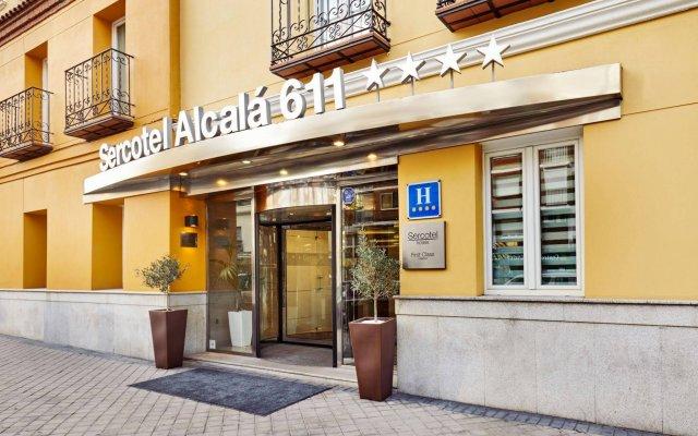 Hotel Sercotel Alcalá 611 вид на фасад