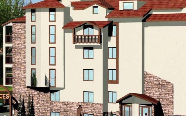 Апартаменты Pirin Palace Apartment Complex Банско вид на фасад