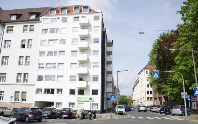 Отель StayS Apartments Германия, Нюрнберг - отзывы, цены и фото номеров - забронировать отель StayS Apartments онлайн вид на фасад