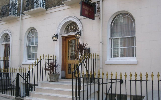 The Belgrove Hotel Лондон вид на фасад