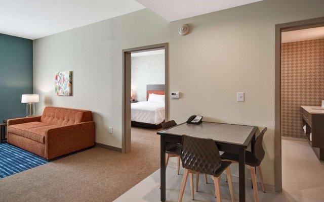 Отель Home2 Suites by Hilton Columbus Downtown США, Колумбус - отзывы, цены и фото номеров - забронировать отель Home2 Suites by Hilton Columbus Downtown онлайн комната для гостей