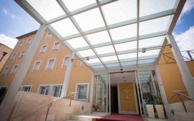 Hotel San Domenico Al Piano Матера вид на фасад
