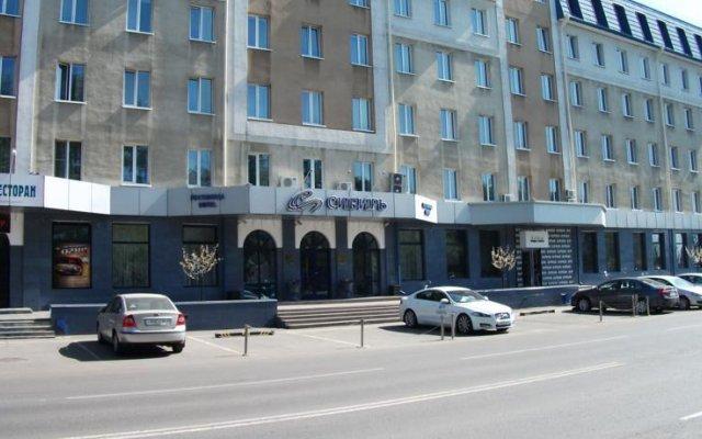 Гостиница Сибирь в Барнауле 2 отзыва об отеле, цены и фото номеров - забронировать гостиницу Сибирь онлайн Барнаул вид на фасад