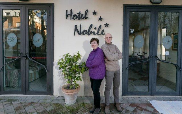 Hotel Nobile Кьянчиано Терме вид на фасад