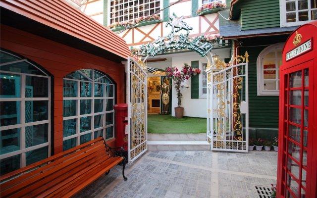 Отель Xiamen Feisu Knight Royal Garden Китай, Сямынь - отзывы, цены и фото номеров - забронировать отель Xiamen Feisu Knight Royal Garden онлайн вид на фасад