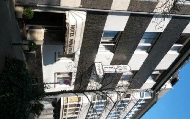 Отель Minerva Garni Германия, Дюссельдорф - 1 отзыв об отеле, цены и фото номеров - забронировать отель Minerva Garni онлайн вид на фасад