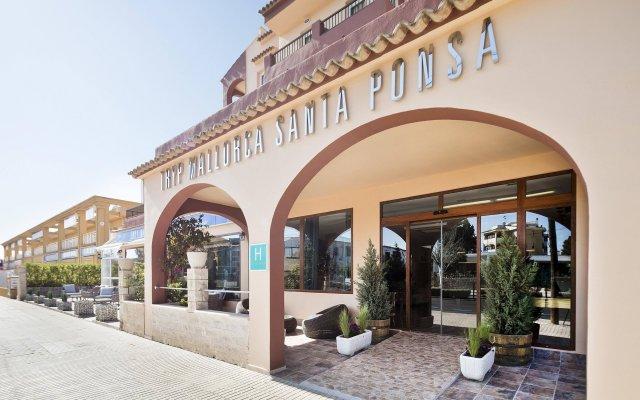 Santa Ponsa Pins Hotel Санта-Понса вид на фасад