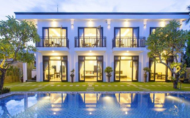 Отель Hoi An Hideaway Villa вид на фасад