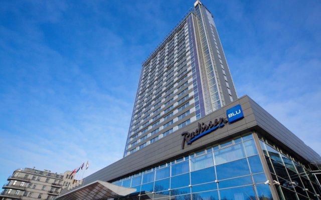 Radisson Blu Hotel Latvija вид на фасад