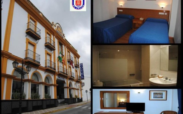 Hotel Peña de Arcos вид на фасад