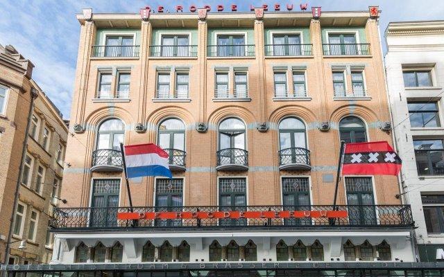 Отель Amsterdam - De Roode Leeuw Нидерланды, Амстердам - 1 отзыв об отеле, цены и фото номеров - забронировать отель Amsterdam - De Roode Leeuw онлайн вид на фасад