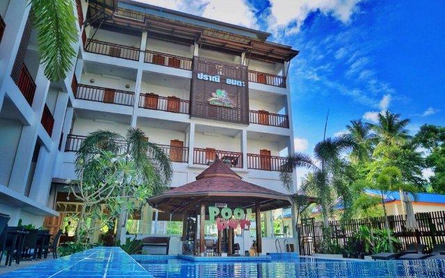 Отель Pranee Amata вид на фасад