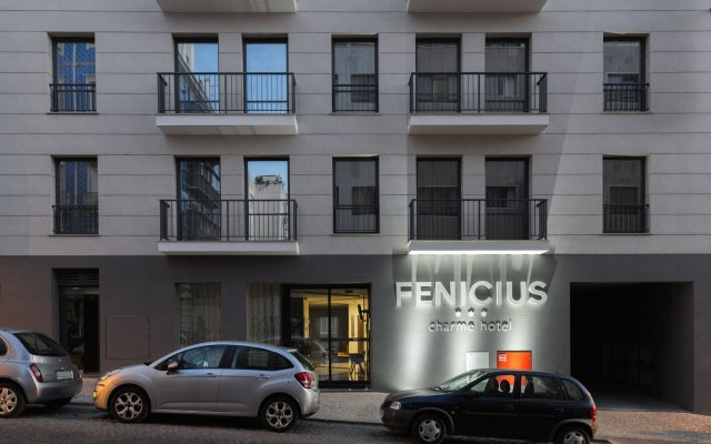 Fenicius Charme Hotel вид на фасад