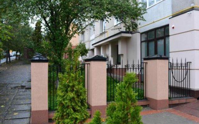 Hotel Sacvoyage Львов вид на фасад